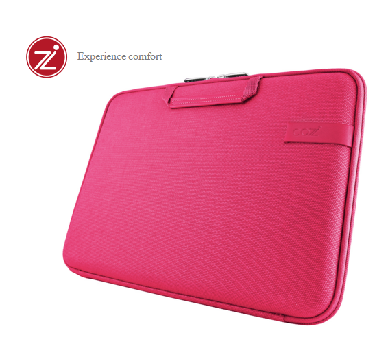 Cozistyle SmartSleeve for 15.4吋 MacBook Pro (Retina) 智能散熱防潑水手提硬殼電腦保護套 - 帆布蜜桃粉