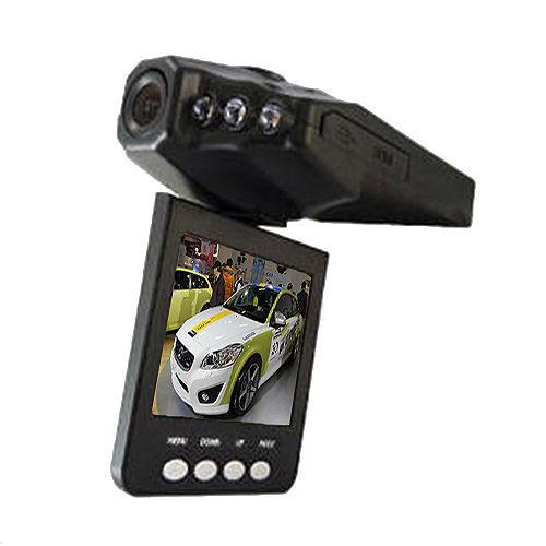 魔鷹 270度翻轉螢幕6顆紅外夜視燈行車紀錄器--2入組