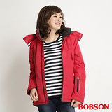 BOBSON 女款鋪棉防風透氣外套(34115-13)