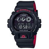 【CASIO 卡西歐】G-SHOCK 時尚大錶徑運動個性腕錶(51.9mm/GA-400HR-1A)