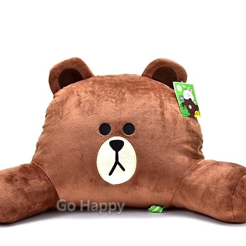 LINE FRIENDS【酷酷熊大】護腰靠枕