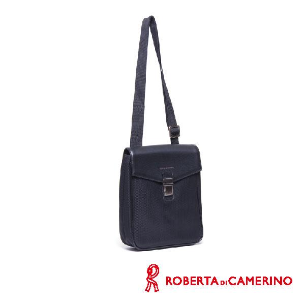 Roberta di Camerino 尼龍配皮側背包