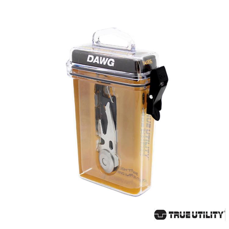 TRUE UTILITY DAWG 14合1多 鑰匙圈工具組 城市綠洲 鑰匙圈、工具、修繕