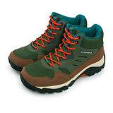 【男】DIADORA 抗水越野戶外郊山鞋 野外叢林系列 綠咖橘 3725