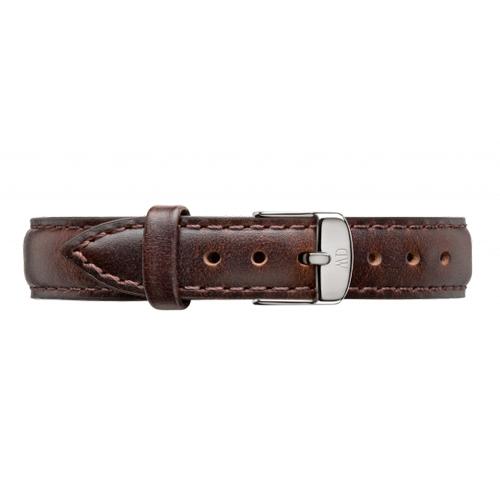DW Daniel Wellington 時尚棕色皮革錶帶/13mm(1023DW)