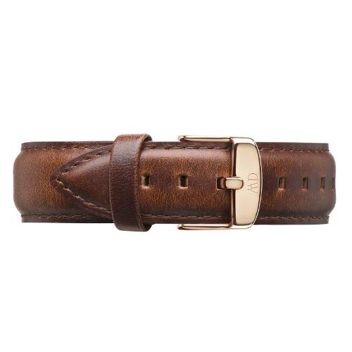 DW Daniel Wellington 咖啡色皮革錶帶/20mm(0306DW)