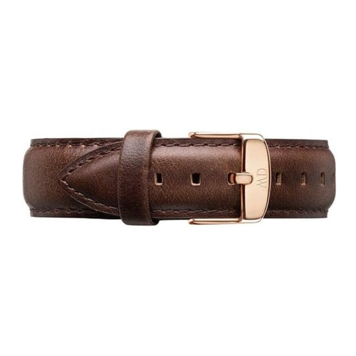 DW Daniel Wellington 深咖啡色皮革錶帶/20mm(0309DW)