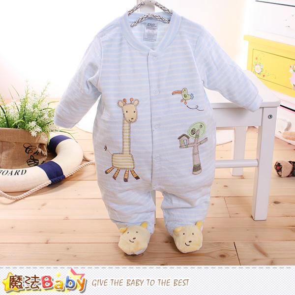 魔法Baby~包腳連身衣 法國設計細絲絨包屁衣 k60179