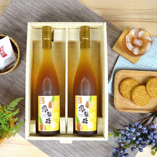 醋桶子 健康果醋禮盒-鳳梨醋 600mlx2 /組
