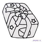 【愛玩色創意館】兒童無毒彩繪玻璃貼- 小張圖卡 - 禮物 ipcpS12 -台灣製