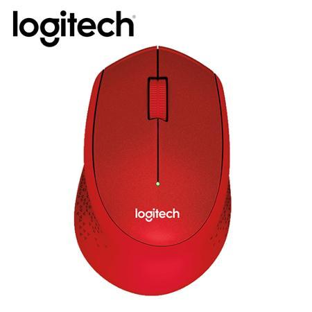 M331 無線靜音滑鼠(紅)