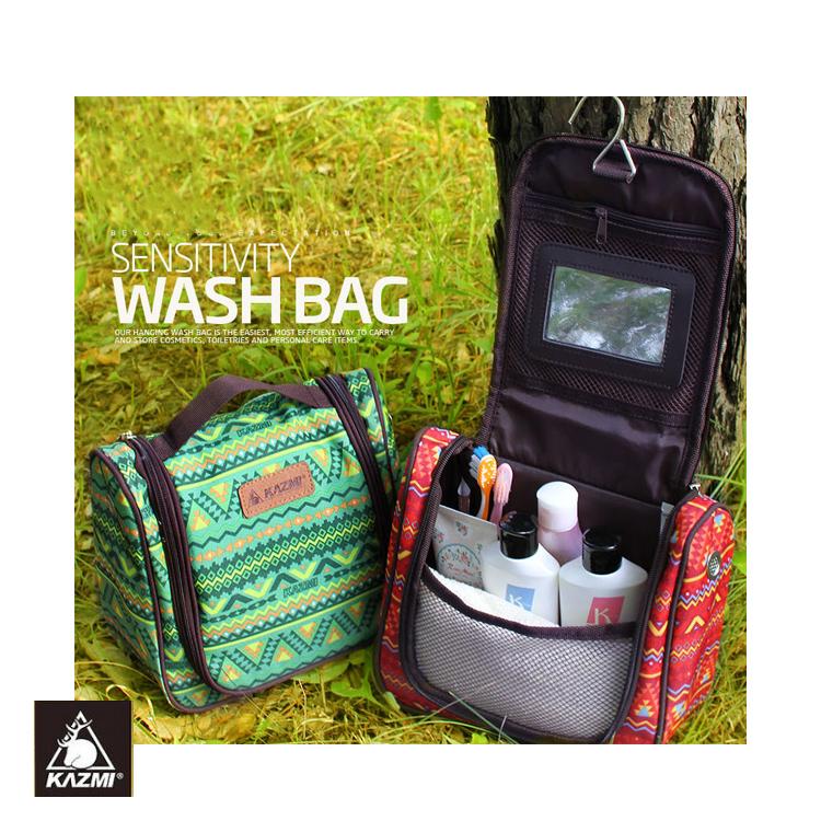 KAZMI 多 盥洗收納包K5T3B008 民族風 紅  城市綠洲 戶外、收納、民族風、盥洗包、旅遊
