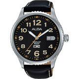 ALBA PRESTIGE 街頭酷流行腕錶-黑/45mm VJ43-X036C(AV3509X1)