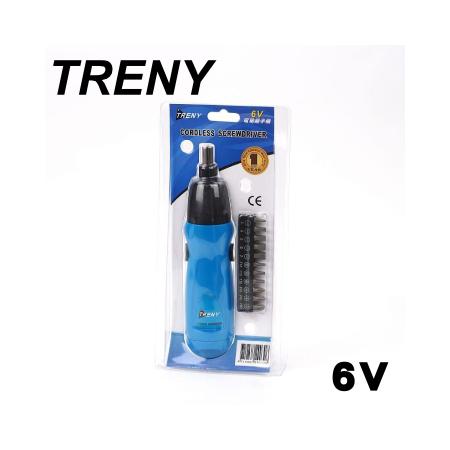 TRENY 6V 電動起子機 -friDay購物