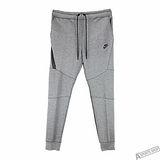 NIKE 男 M NSW TCH FLC PANT CF 棉褲 灰 -805163091