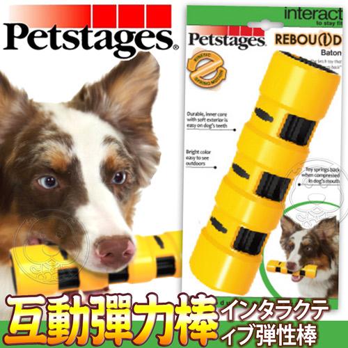 美國petstages》1154犬用玩具互動彈力棒-M號