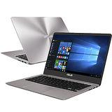 【ASUS華碩】UX410UQ-0051A7200U 14吋FHD i5-7200U 4G記憶體 256GSSD NV940MX 2G獨顯 極致輕薄高效筆電(石英灰)