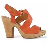 GEOX-D NURIT B 涼鞋 羊皮 橘色