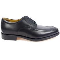 GEOX-U FEDERICO Y 紳士鞋 牛皮 黑色