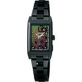 SEIKO LUKIA 幸福星空 凱蒂貓限量腕錶-IP黑/17mm V111-0BZ0D(SSVR081J)