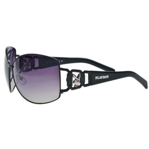 PLAYBOY-時尚太陽眼鏡(黑色)PB81048-3
