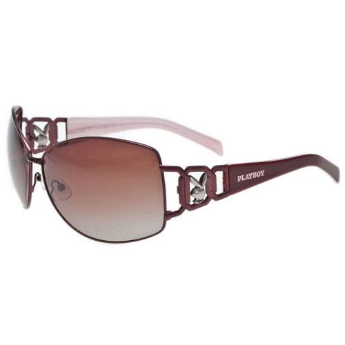 PLAYBOY-時尚太陽眼鏡(紫紅色)PB81048-B11D