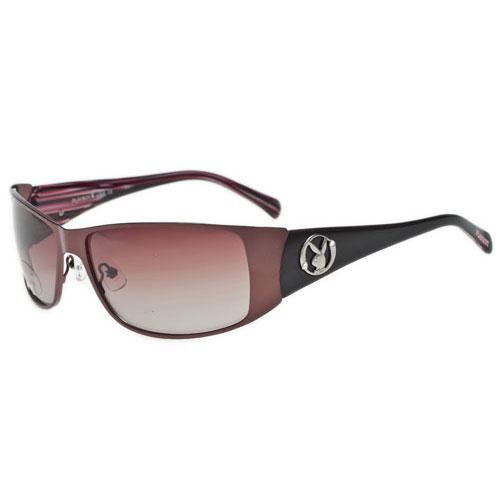 PLAYBOY-時尚太陽眼鏡(咖啡色)PB81053-11