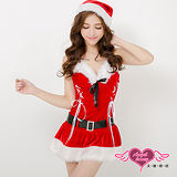【天使霓裳】聖誕服 迷人寶貝 耶誕派對角色扮演服(紅F)
