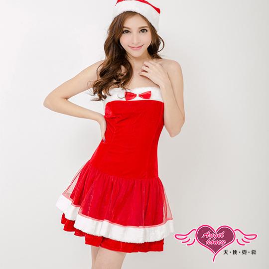 【天使霓裳】耶誕服 耀眼風格狂熱聖誕舞會角色服(紅F)