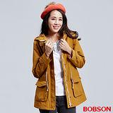 BOBSON 女款連帽雙層風衣外套(36103-36)