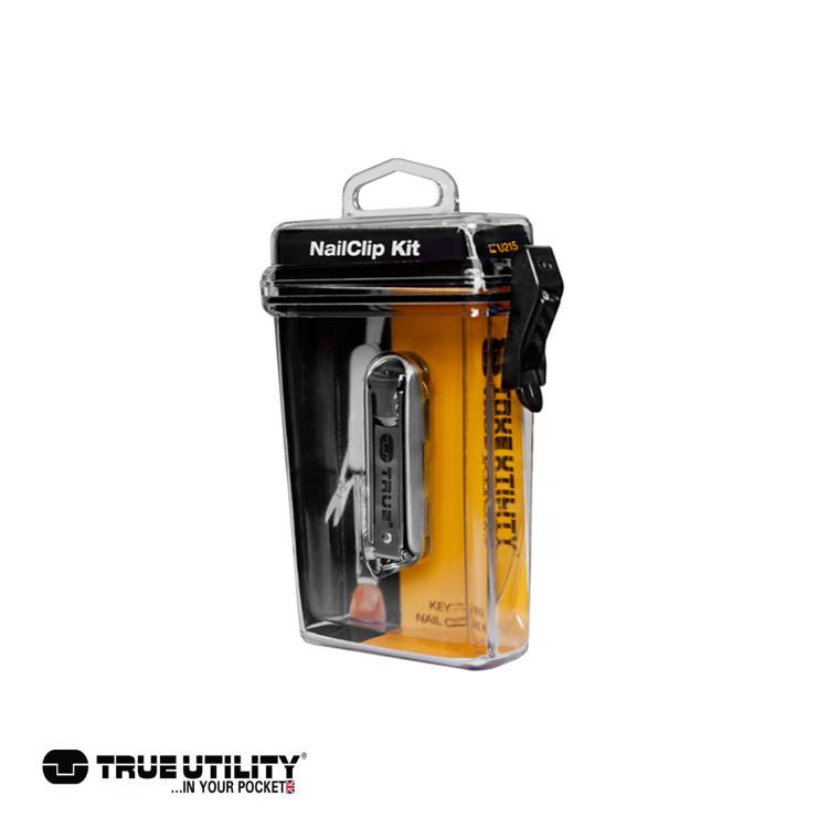 TRUE UTILITY NailClip Kit指甲刀工具組 城市綠洲 戶外、工具組、鑰匙圈、英國
