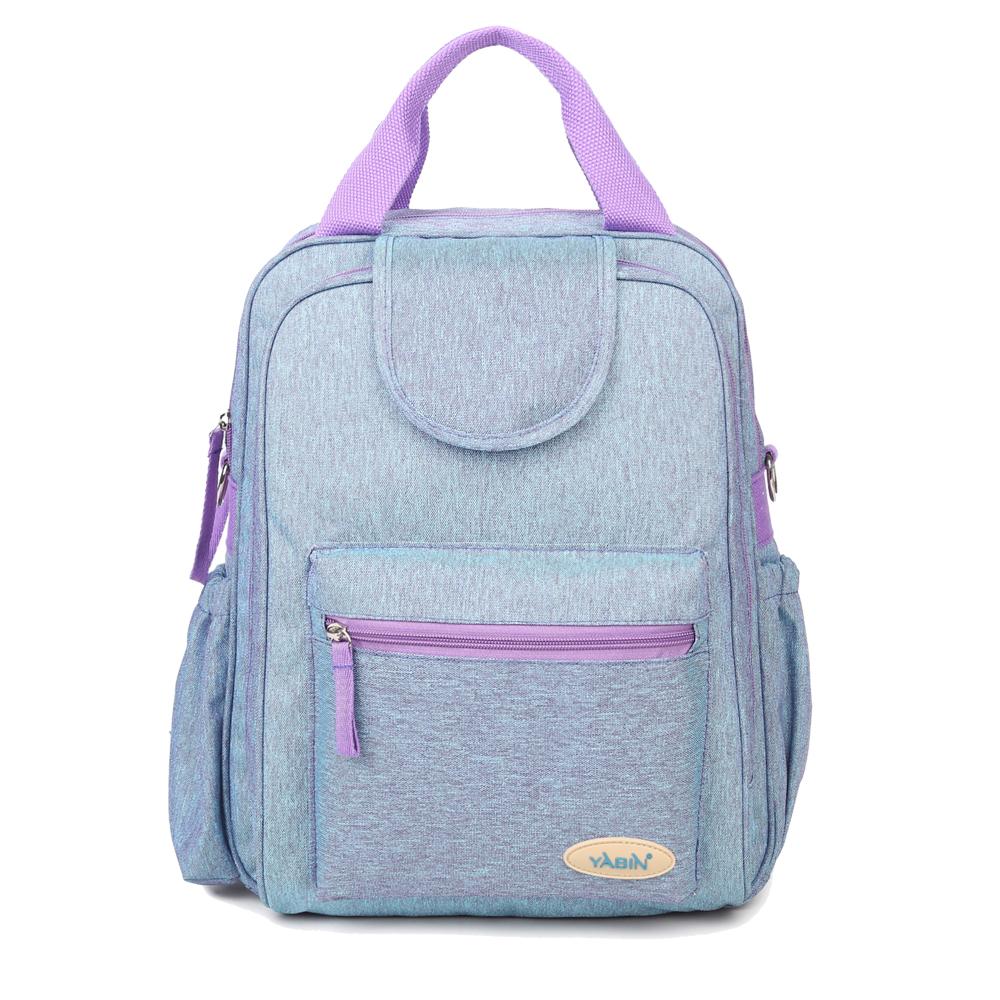 【YABIN台灣總代理】加大容量媽媽包雙開拉鍊可掛行李箱