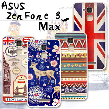 VXTRA  ASUS ZenFone 3 Max (ZC520TL)   率性風格 彩繪軟式保護殼 手機殼