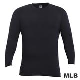 (男)MLB-德州遊騎兵隊圓領熱力棉T恤-深藍