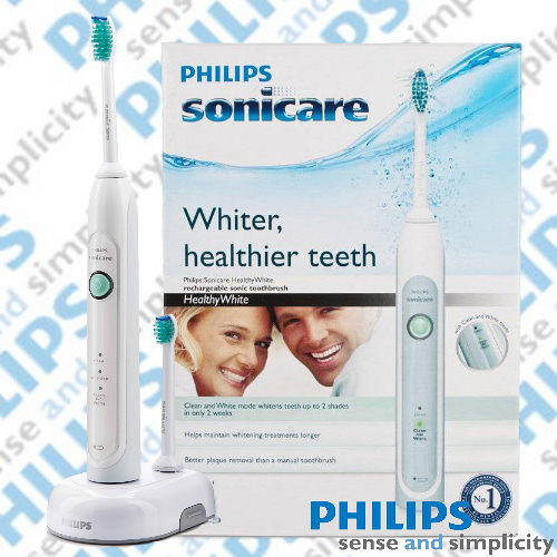 【飛利浦 PHILIPS】 Sonicare Healthy White 音波震動牙刷 HX6711 (加贈專用刷頭3入)