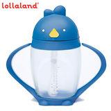 【lollacup】美國 可愛造型小雞杯 - 寳寳吸管學習杯/ 海底雞 / 藍色 296ml