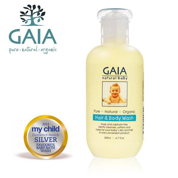 GAIA澳洲蓋雅  天然有機二合一體髮露