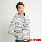 BOBSON 男款連帽印圖外套(34020-83)