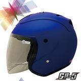 【GP-5 A613 素色巡警造型 3/4 罩安全帽】CP值超高|美國DOT認證|台灣製造