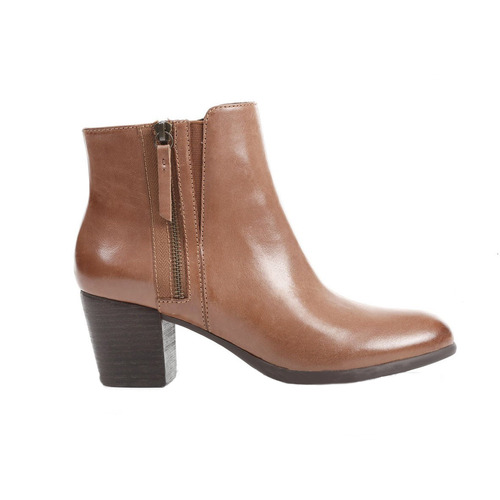 GEOX - D LUCINDA B 靴子 牛皮 布料