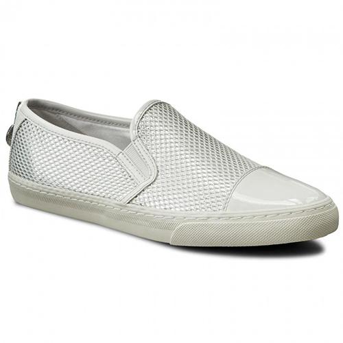 GEOX D NEW CLUB 休閒鞋 羊皮