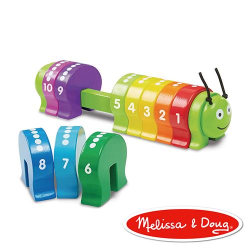 美國瑪莉莎 Melissa & Doug 益智遊戲 - 計數毛毛蟲
