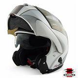 【ZEUS 瑞獅 ZS 3000A GG7安全帽】汽水帽│雙層鏡片│可樂帽│全罩式│可掀式安全帽│CP值超高