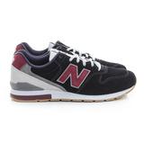 New Balance 男/女鞋 復古慢跑鞋 黑紫 MRL996ND