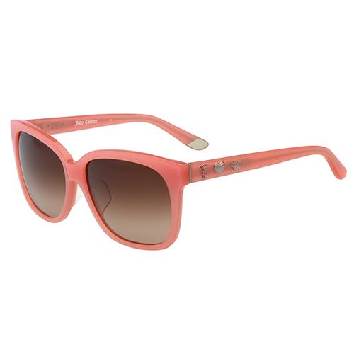 Juicy Couture 時尚 太陽眼鏡 (粉橘色)JUC804FS