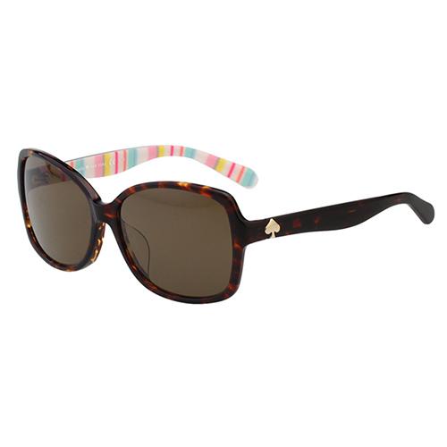 Kate Spade- 簡約造型 太陽眼鏡(琥珀色)