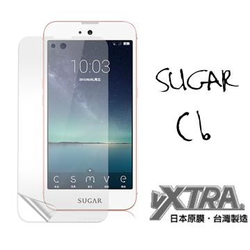 VXTRA SUGAR C6 美鑽機 5吋 高透光亮面耐磨保護貼 保護膜