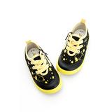 Snoopy史努比 輕量舒適柔軟彈性鞋墊休閒帆布鞋 514222-黃