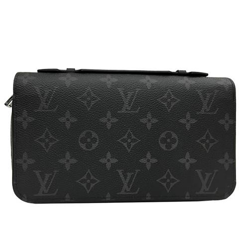 Louis Vuitton LV M61698 Zippy XL 黑經典花紋護照手機長夾_預購