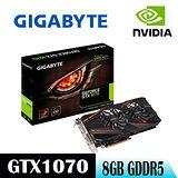 【GIGABYTE技嘉】GV-N1070WF2OC-8GD顯示卡
